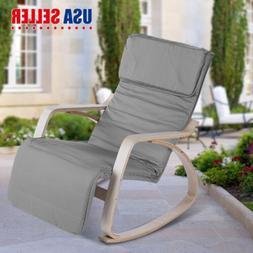 Relax Wood Rocking Chair Porch Rocker Patio Furniture Modern