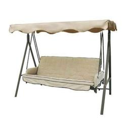 Replacement Canopy Top Cover Garden Treasures 3 Person Swing