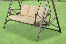 Garden Winds Replacement Cushion Set for Metal X Swing