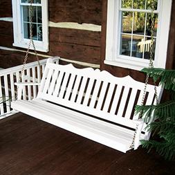 Dress the Yard Royal English Amish-Crafted Yellow Pine Porch
