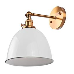 Swing Arm Wall Lamp Sunsbell E27 Retro Wall Mount Sconce Lig