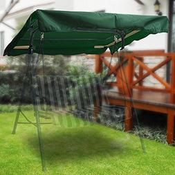 "Flexzion Swing Canopy Cover Green 77""x43"" Deluxe Polyester T"