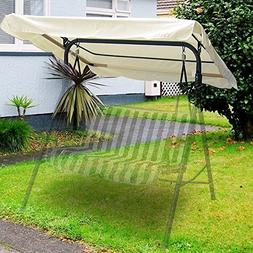 Flexzion Swing Canopy Cover - Deluxe Polyester Top Replaceme
