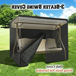 BenefitUSA Swing Cover 3 Seater Size Outdoor Furniture Porch