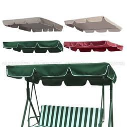 Swing Top Seat Cover Canopy Replacement Porch Patio Outdoor
