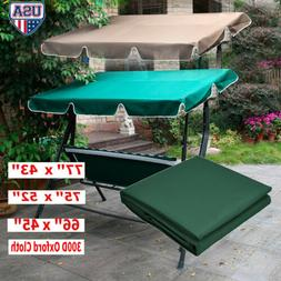 Swing Top Seat Cover Canopy Replacement Porch Patio Anti Dus