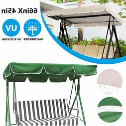 Swing Top Seat Cover Canopy Replacement Waterproof Porch Pat