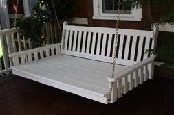 Outdoor 6' Traditional English Swing Bed - Oversized Porch S