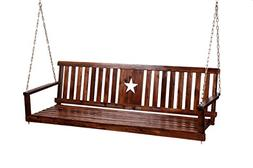 Leigh Country TX 94070 Char-Log Porch Swing
