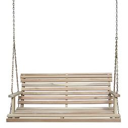 International Concepts Unfinished Swing with chain SW-53943