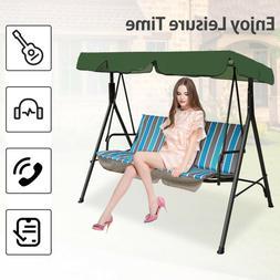 US Outdoor Garden Patio Swing Canopy Seat Top Waterproof Sun