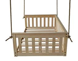 A&L Furniture VersaLoft Amish-Made Pine Twin Mission Swingbe