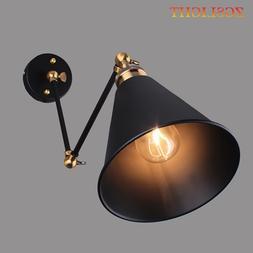 Vintage Industrial Wall Lamp E27 Loft Creative <font><b>Swin
