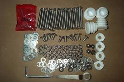 Vintage Metal Porch Lawn Glider Stainless Steel Rebuild Kit