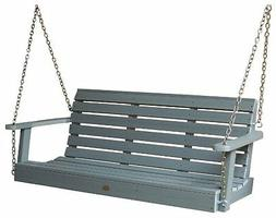 Weatherly Porch Swing - Color: Coastal Teak