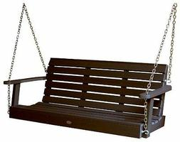 Weatherly Porch Swing - Color: Weathered Acorn