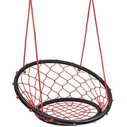 Sorbus Web Chair Swing, Rope Net Style Hammock Chair, 264 Po
