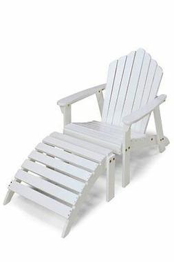 White Adirondack Chair by Jack Post JN-22W