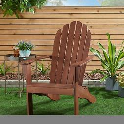 Wooden Adirondack Chair Outdoor Patio Furniture Lounge Seat