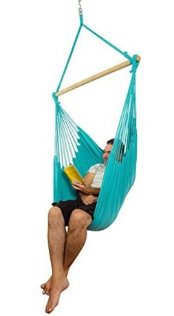 XXL Hammock Chair Swing for Kids Adult Pet Patio Porch Backy
